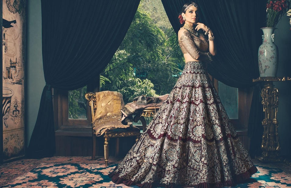 The Bridal checklist: The Indian Designers with Inspired Dresses