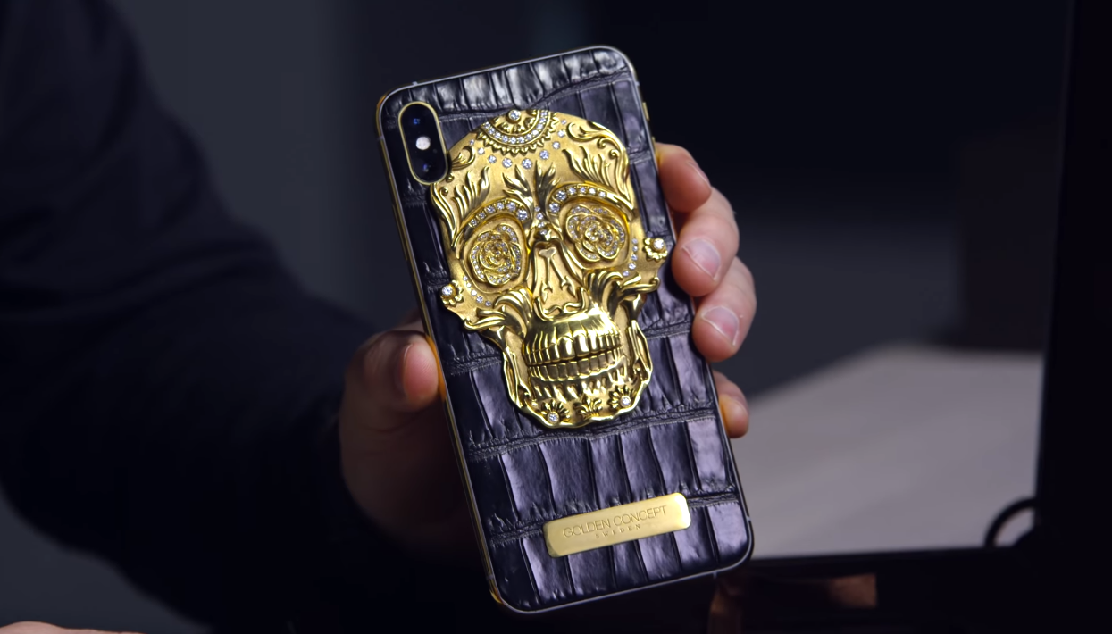 Glimmer and Gold - Golden Concept's I Phone Sugar Skull Edition