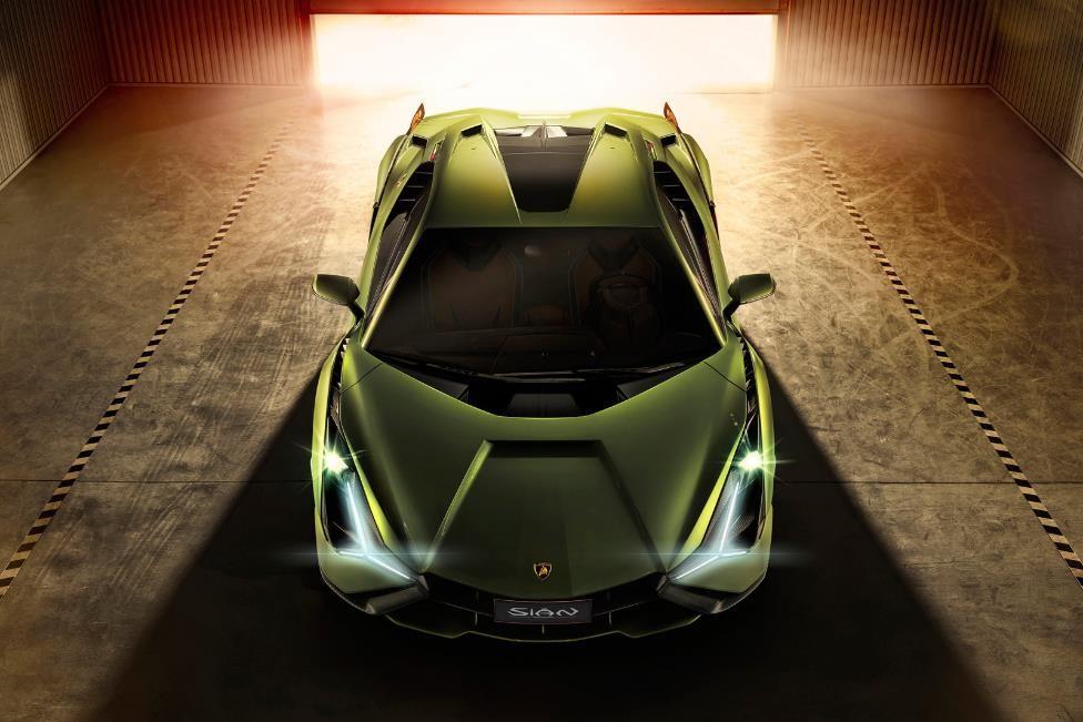 An Automotive Gem: The Raging Lamborghini Sian